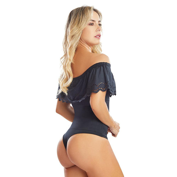 Shape Concept Fajas Colombianas Mid Compression Bodysuits with Internal Powernet Shaper (One Size fits XS-L) 4265-1
