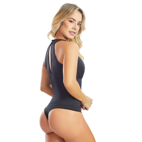 Shape Concept Fajas Colombianas Mid Compression Bodysuits with Internal Powernet Shaper (One Size fits XS-L) 4355-1 - Fajas Colombianas | Colombian Shapewear