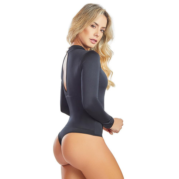 Shape Concept Fajas Colombianas Mid Compression Bodysuits with Internal Powernet Shaper (One Size fits XS-L) 4449-1