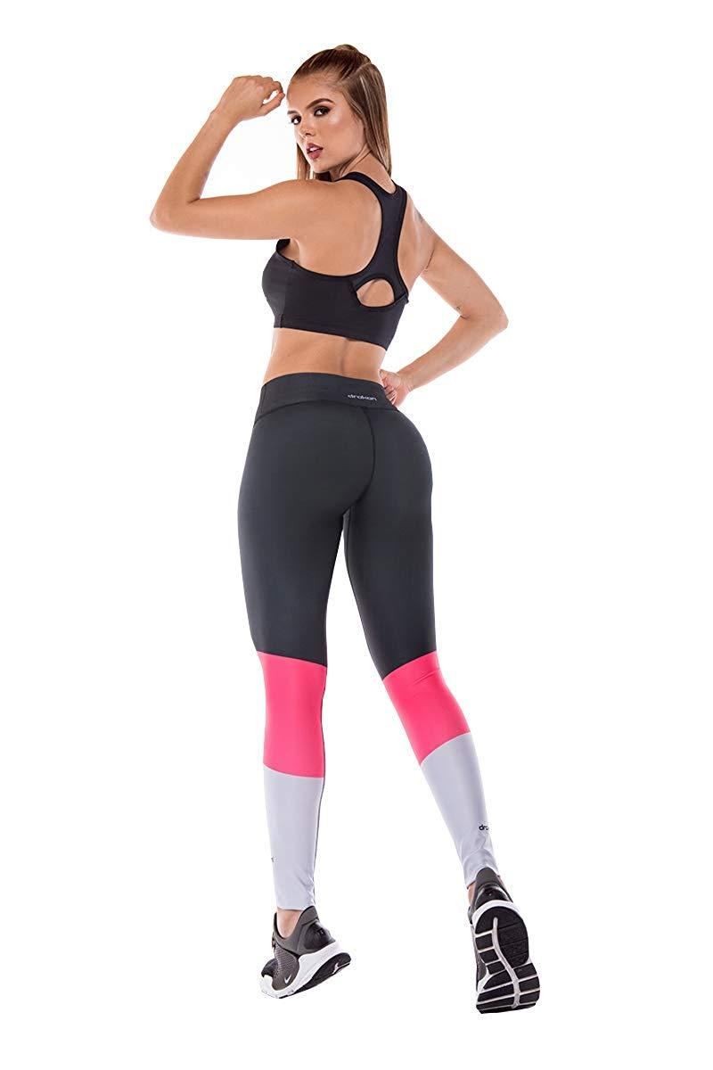 Colombian Workout high Waisted Leggings for Women | Compression Tight Crossfit Yoga Pants Many Styles. 3 Rose - Fajas Colombianas | Colombian Shapewear