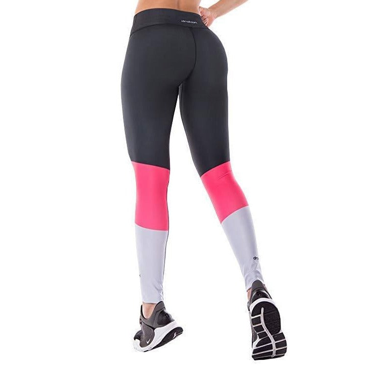 Colombian Workout high Waisted Leggings for Women | Compression Tight Crossfit Yoga Pants Many Styles  - Grey Basic - Fajas Colombianas | Colombian Shapewear