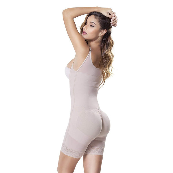 Powernet Girdle Shorts With Tummy Control and Buttock Lift - Fajas Colombianas | Colombian Shapewear