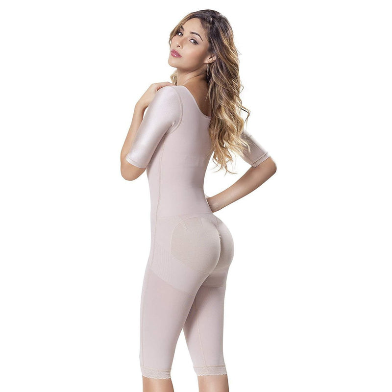 Full Body High Compression Bodysuit With Abdomen Control - Fajas Colombianas | Colombian Shapewear