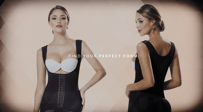 High Compression Sculpting Bodysuit For Wide Hips - Fajas Colombianas | Colombian Shapewear