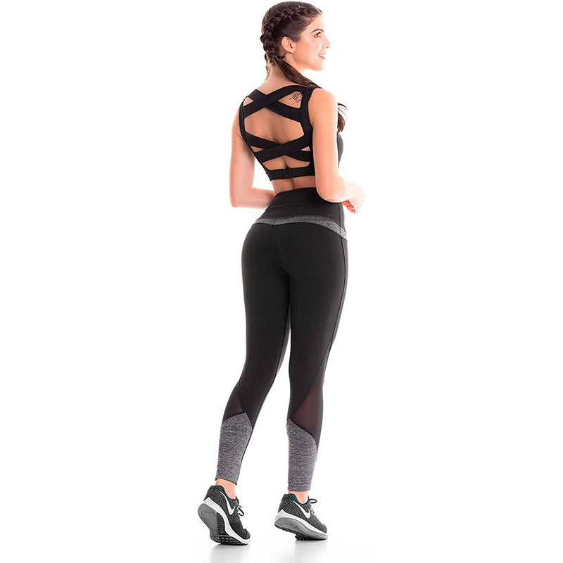 Colombian Workout high Waisted Leggings for Women | Compression Tight Crossfit Yoga Pants Many Styles - Jasper Xection - Fajas Colombianas | Colombian Shapewear