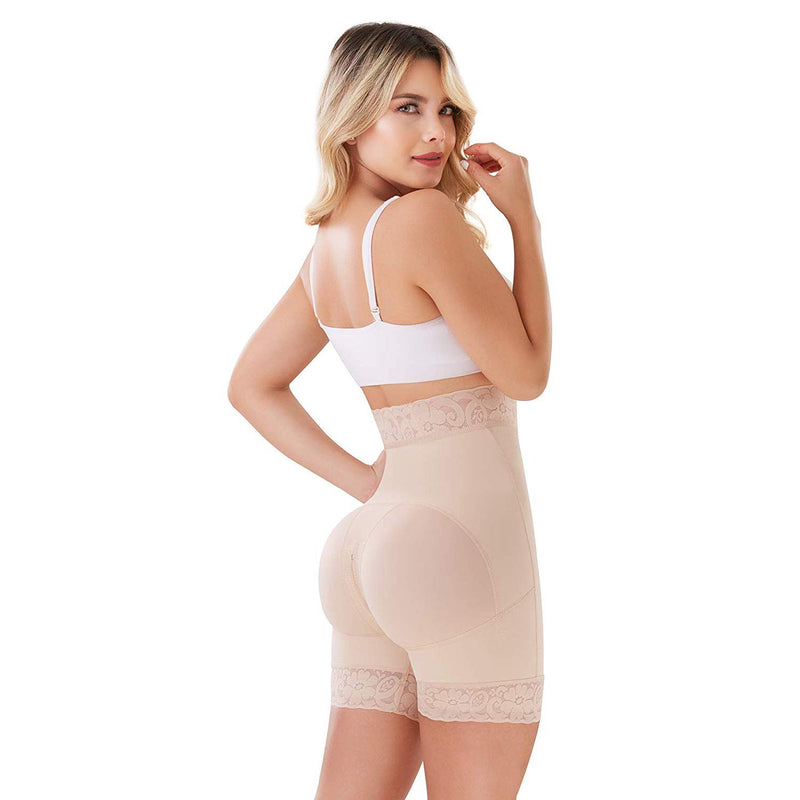 Shape Concept SCS003 Butt Lifter High-Compression Girdle with perineal Zipper - Fajas Colombianas | Colombian Shapewear