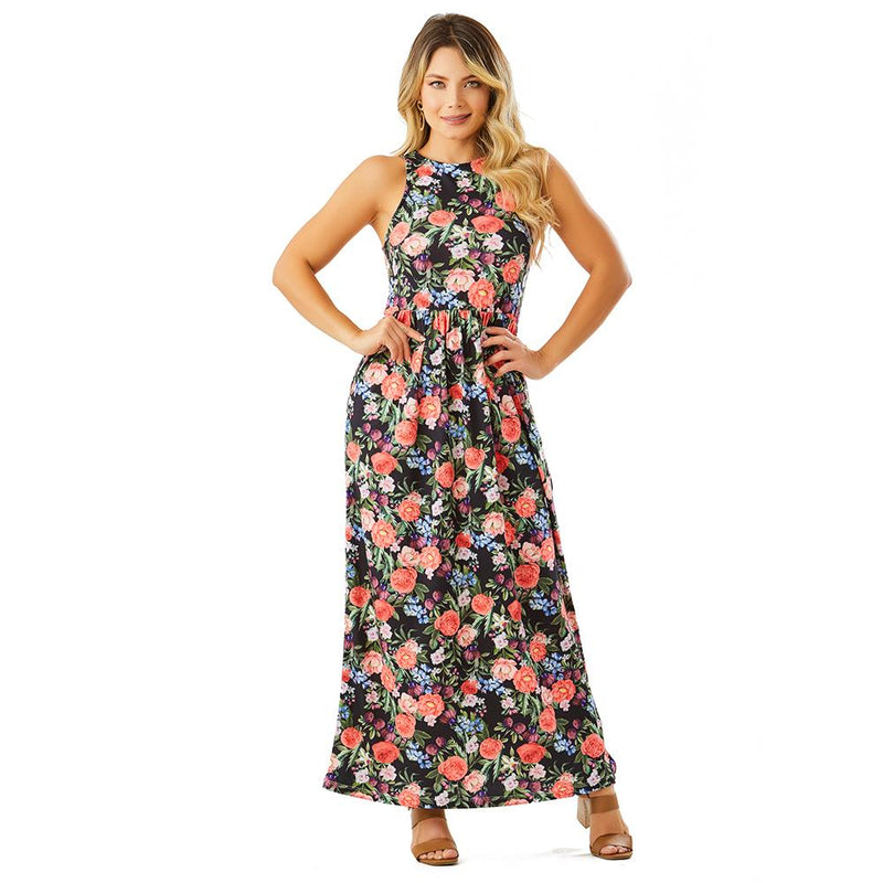 Shape Concept Colombian Floral Dresses for Women SCV011 - Fajas Colombianas | Colombian Shapewear