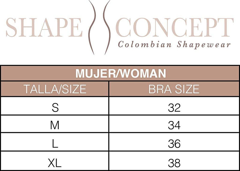 Shape Concept SCB001 Regenerating Powernet Posture Bra - Fajas Colombianas | Colombian Shapewear
