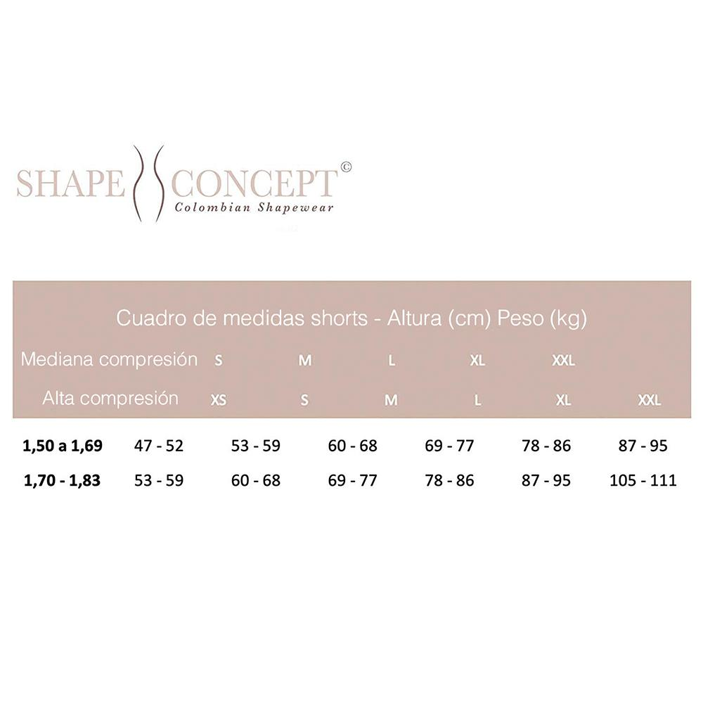Shape Concept SCS004 Butt Lifter Shorts Levanta Cola Colombianos High-Compression Girdle Short - Fajas Colombianas | Colombian Shapewear