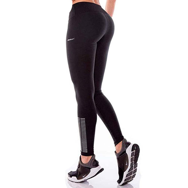 Colombian Workout high Waisted Leggings for Women | Compression Tight Crossfit Yoga Pants Many Styles  - Basic Black - Fajas Colombianas | Colombian Shapewear