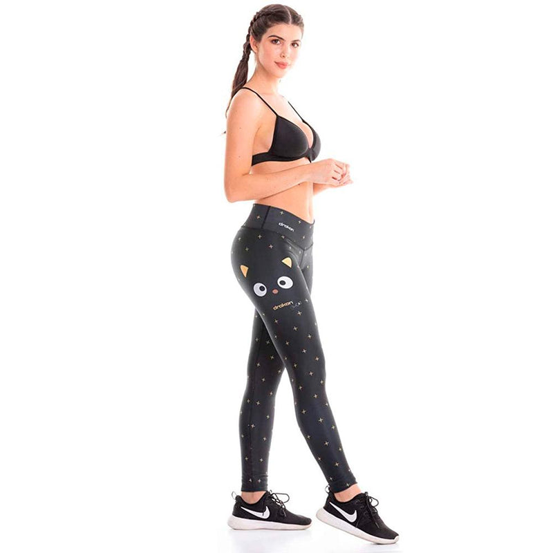 Colombian Workout high Waisted Leggings for Women | Compression Tight Crossfit Yoga Pants Many Styles  - Cat - Fajas Colombianas | Colombian Shapewear