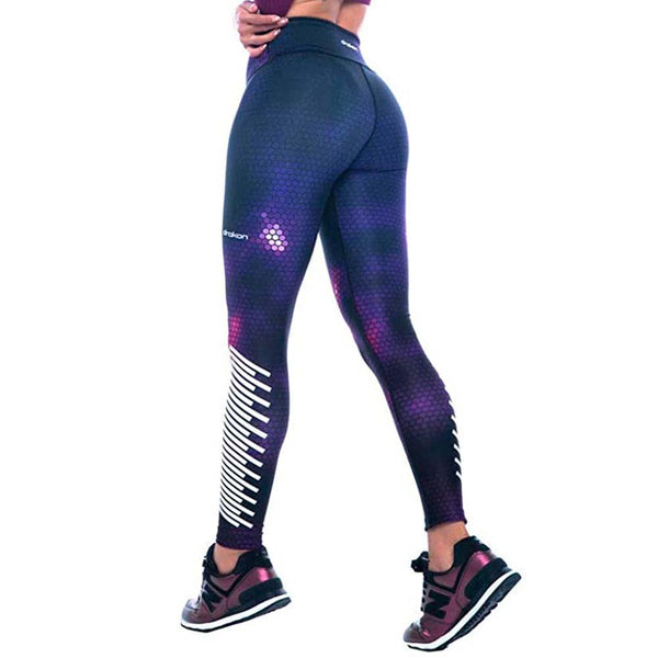 Colombian Workout high Waisted Leggings for Women | Compression Tight Crossfit Yoga Pants Many Styles  - Darkness - Fajas Colombianas | Colombian Shapewear
