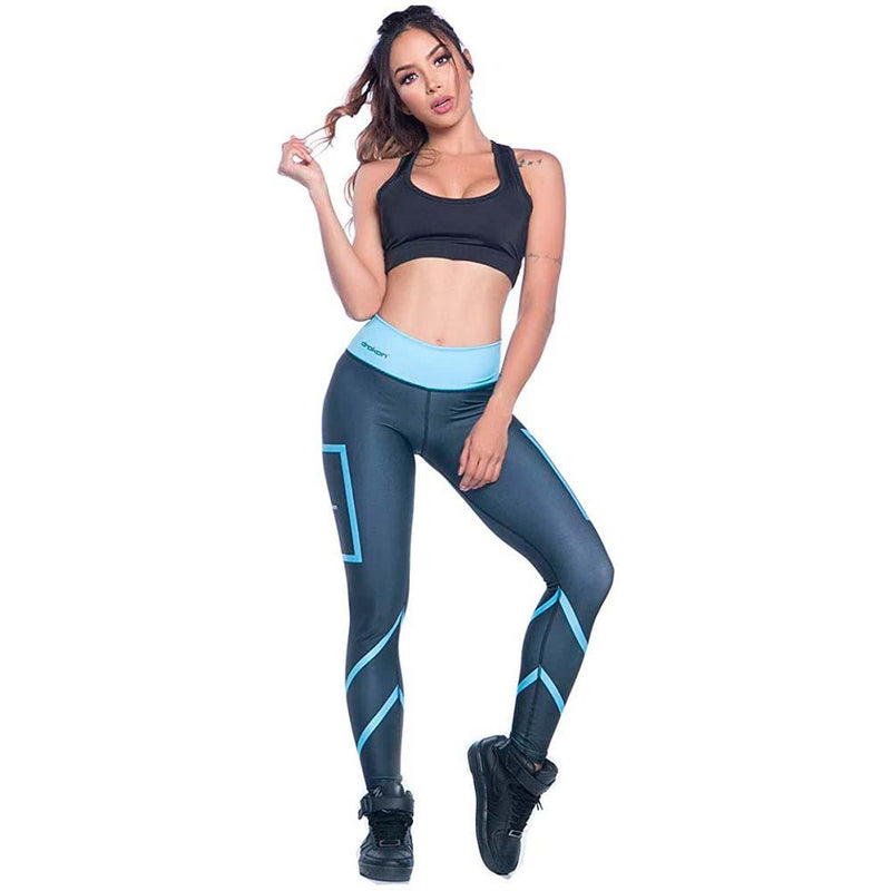 Colombian Workout high Waisted Leggings for Women | Compression Tight Crossfit Yoga Pants Many Styles  - Root - Fajas Colombianas | Colombian Shapewear