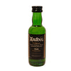A 5cl bottle of Ardbeg 10 year old single malt scotch whisky