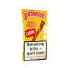 A pack of 5 Backwoods Caribe cigars