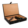 Black Leather Humidor