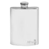 4oz Plain Pewter Flask Free Stand FL255