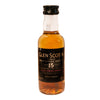 A 5cl bottle of Glen Scotia 15 year old. Campbeltown Single Malt Scotch Whisky