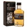 Highland Park 12 Highland single malt scotch whisky 5cl