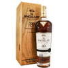 Macallan 30 Year Old 2018 release. Speyside single malt scotch whisky 70cl