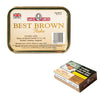 A 50g tin of Samuel Gawith Best Brown Flake pipe tobacco
