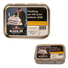 A 50g tin of Samuel Gawith Black XX Kendal Twist rope pipe tobacco