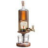 Golf Ball and Tee Whisky Decanter