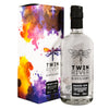 A 50cl bottle of Twin River Naked Gin from Scotland