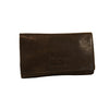 Leather Fold-over Tobacco pouch (3505)