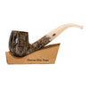 Chacom Atlas Taupe Bent Apple Tobacco Pipe
