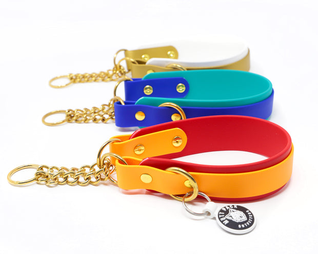 "Layered Biothane® Martingale Collar (1.5"")"