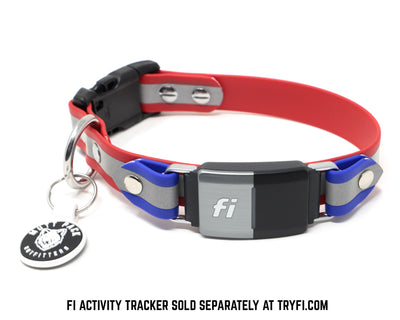 BIoThane Fi Compatible Reflective Collar by Mutt Pack