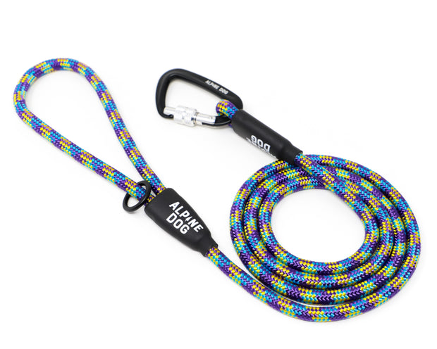 Rope leash with carabiner - Alpine Dog