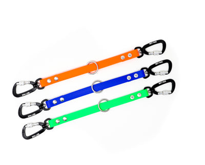 BioThane Coupler with carabiner by Mutt Pack