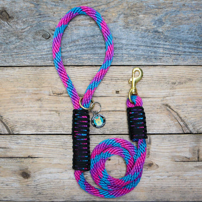 Nebula Rope Leash Dog Leash - Mutt Pack Outfitters