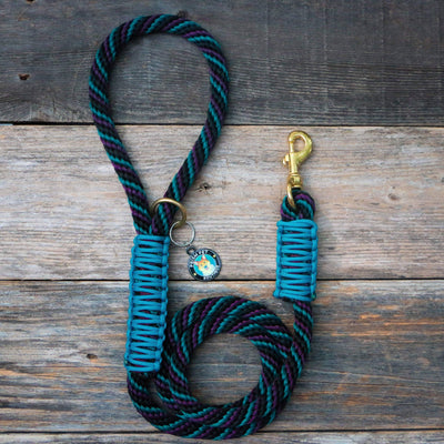 Neptune Rope Leash Dog Leash - Mutt Pack Outfitters