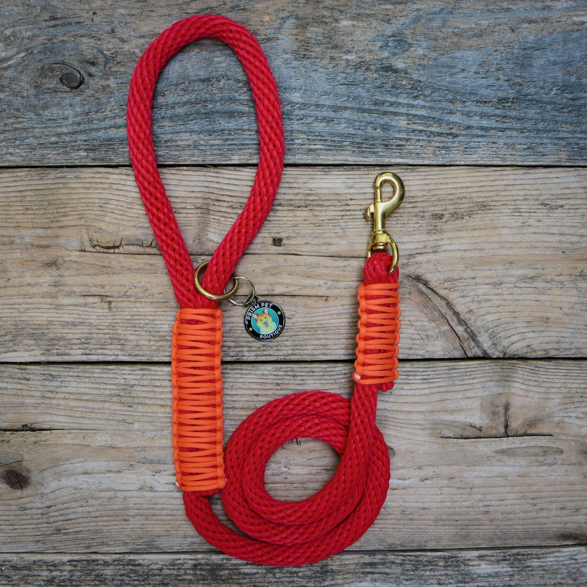 Red Nova Rope Leash