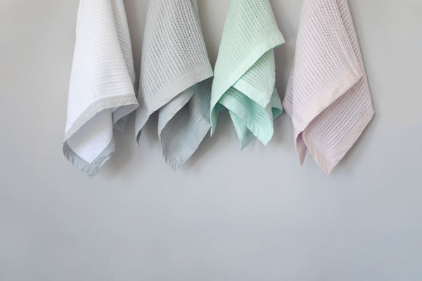 Organic Cotton Cellular Blankets