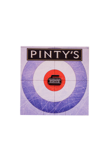 Our Wings Rock Curling Pin
