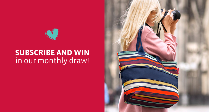 SUBSCRIBE AND WIN A DESIGNER BAG