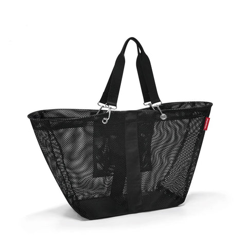 reisenthel meshbag XL black handbag