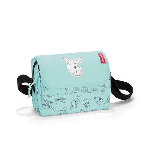 reisenthel everydaybag kids cats and dogs mint