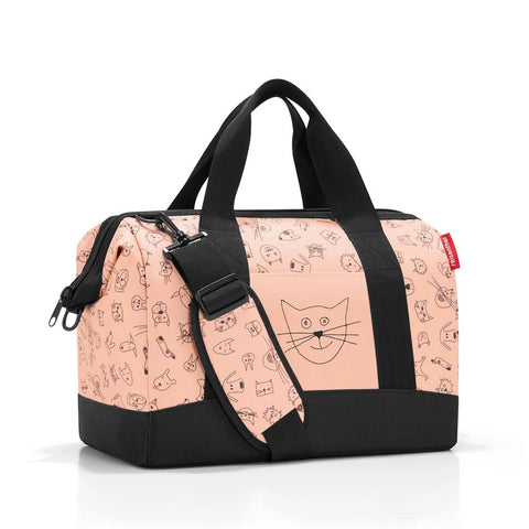 reisenthel allrounder M kids cats and dogs rose travel sling bag
