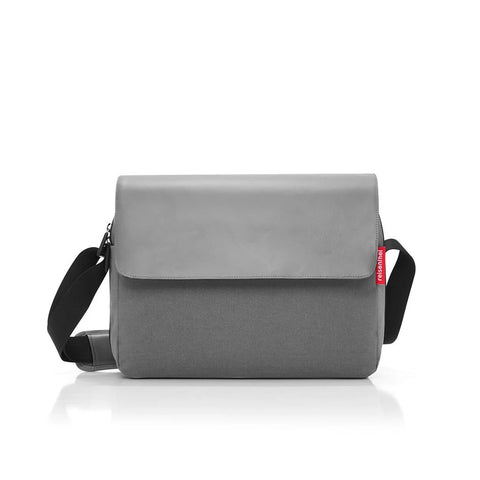 courierbag 2 canvas grey