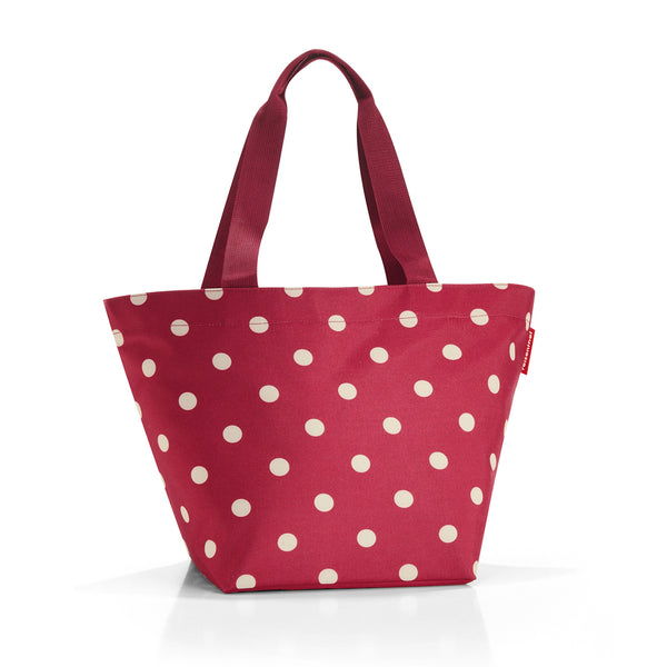 shopper m ruby dots