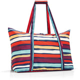 mini maxi travelbag artist stripes