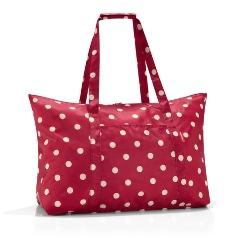 mini maxi travelbag ruby dots
