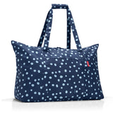 mini maxi travelbag spots navy