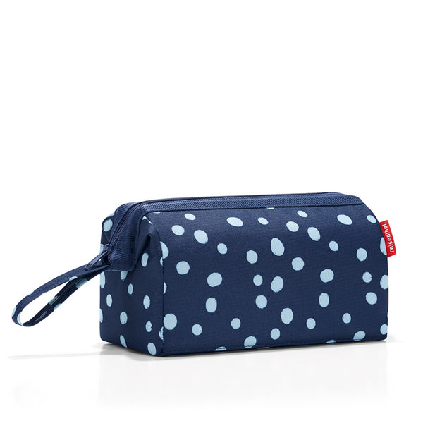 travelcosmetic spots navy cosmetic bag