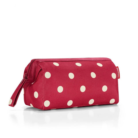 travelcosmetic ruby dots cosmetic bag